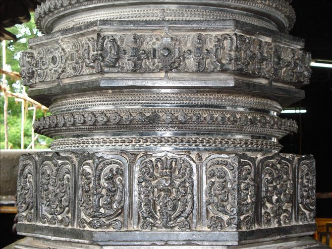 Fine Sculpting of Warangal Thousand Pillar Temple