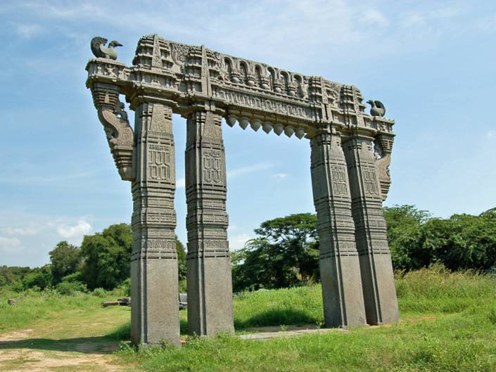 Kakatiya Keerthi Thoranam at Warangal Fort