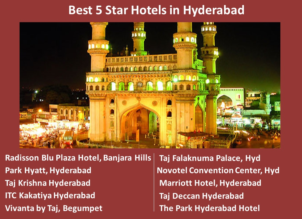 Best 5 Star Hotels in Hyderabad