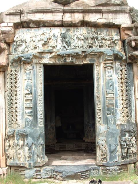 Entrance to Garbhagriham at Ghanpur Group of Temples