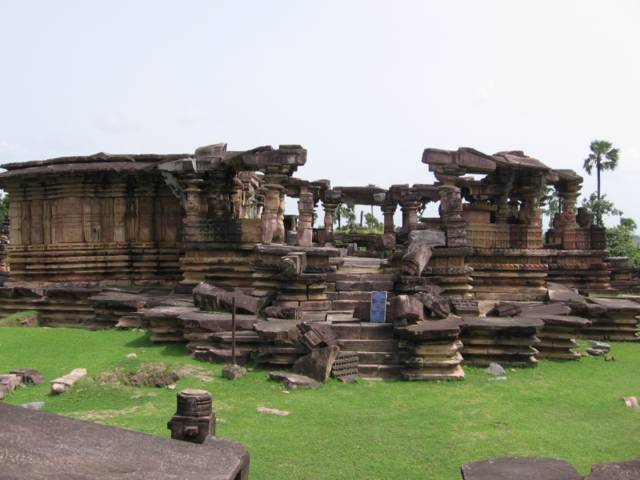 Main Temple of Ghanpur Group of Temples