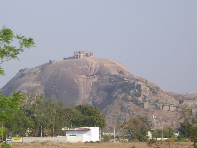 Single Rock Hill of Bhongir Fort