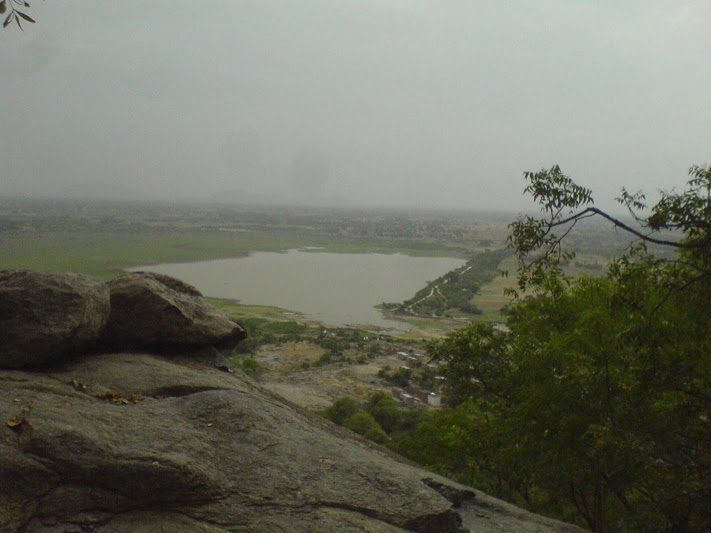 View from Hill Top Palakurthi
