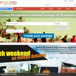 Must See India – 'Create YourPackage' Tool