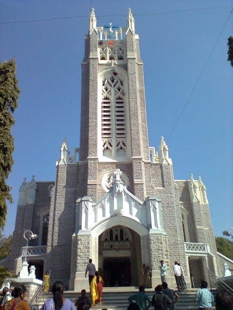 Medak Church Front View