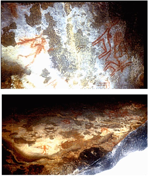 Edithanur Cave Painting dated back to 2300 BC to 900 BC