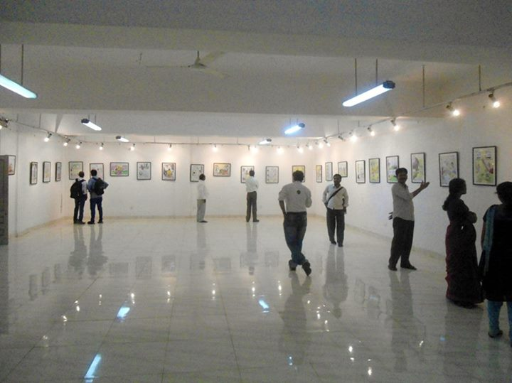 ICCR Gallery with Mrityunjay Cartoons Exhibition