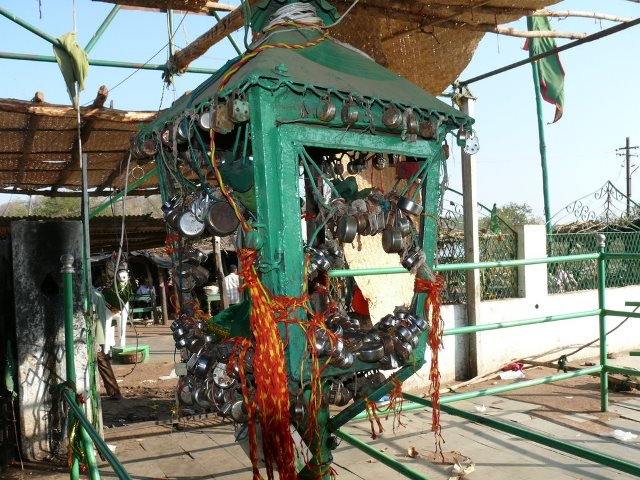 Lock Wish of Devotees at Baha Pahad Dargah