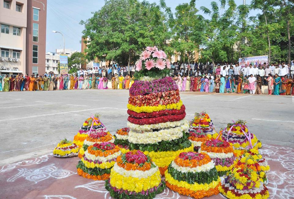 Bathukamma Celebrations at Secretariat