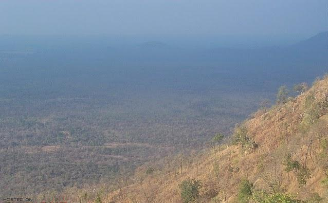 Farahabad View Point in Nallamalla Forest
