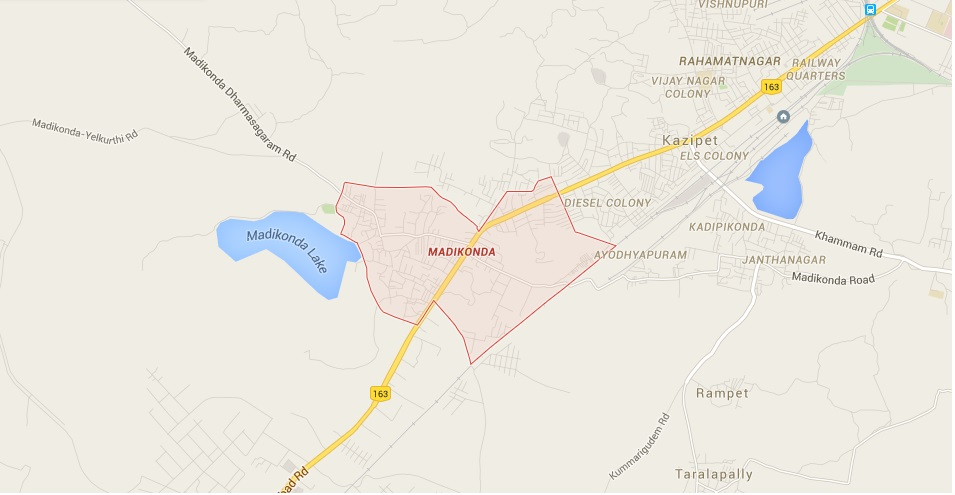 Madikonda Village Map