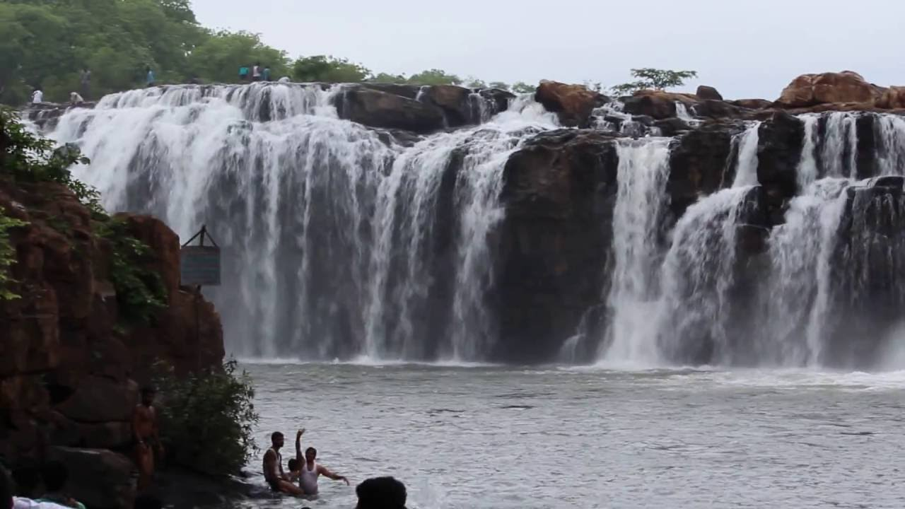 Bogatha Waterfalls in Telangana