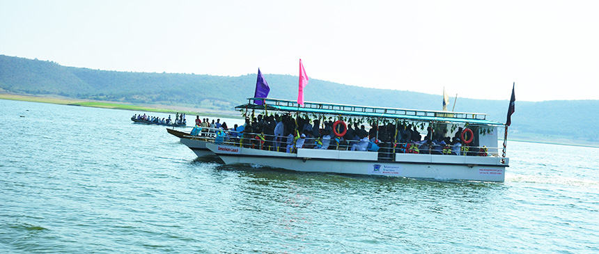 Somasila Boating_Things to do in Telangana