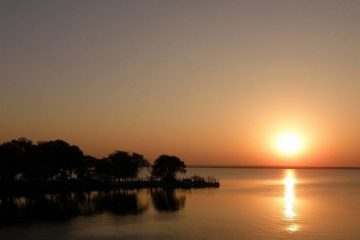 Osman Sagar Lake_Gandipet Lake Hyderabad_Sunset View