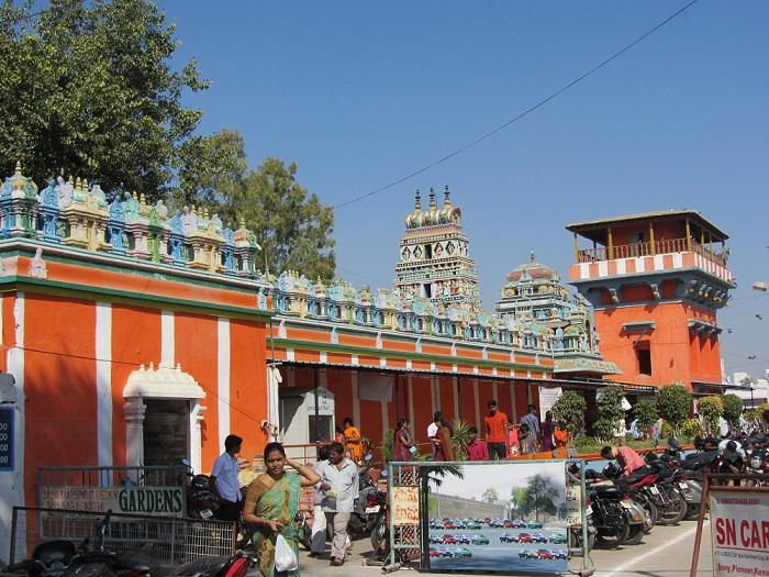 Karmanghat Hanuman Temple Hyderabad-exploretelangana