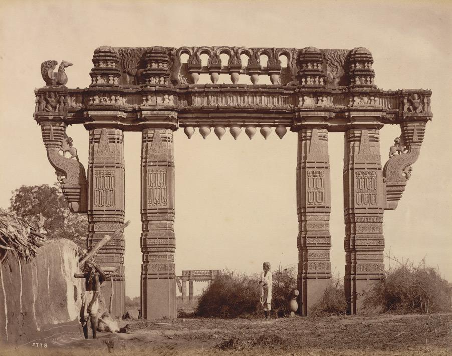 Kakatiya Keerthi Thoran - Photo Taken by Deen Dayal in the year 1880