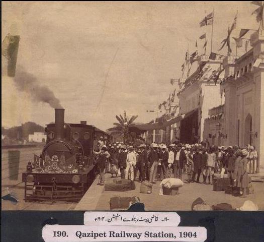 Rare Pic of Kazipet Railway Station - 1904