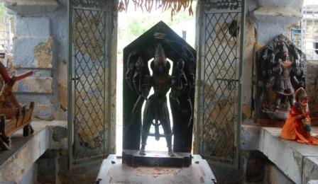 Shrine in Sri Swayambhu Temple Warangal