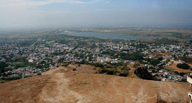 Bird's Eye View from Bhongir Fort