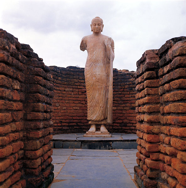 Buddha Statue at Nandikonda Village Nalgonda