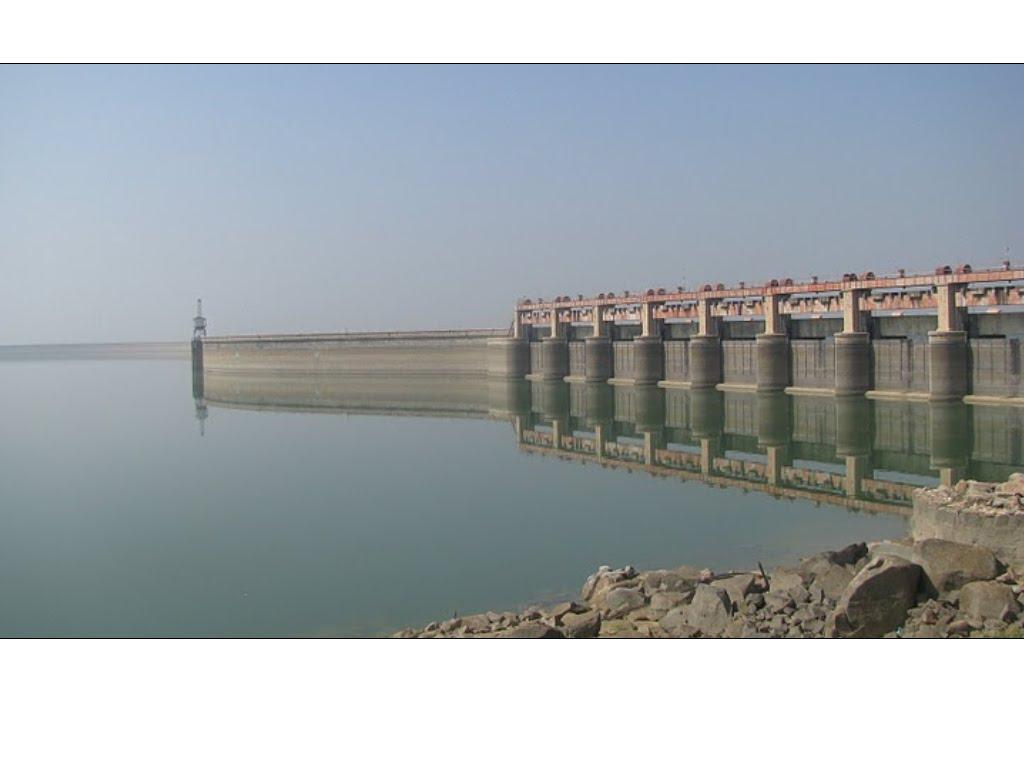 Reflections of Nizam Sagar Dam