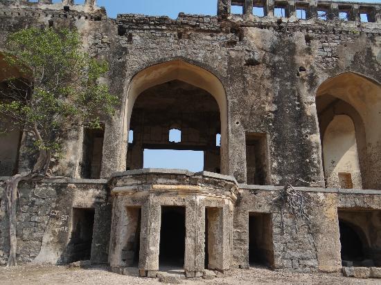 Ruins of Bhongir Fort Strcuture