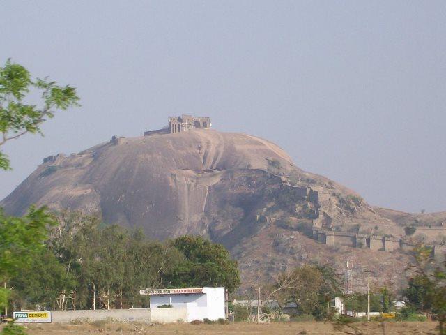 Single Rock Hill of Bhongir Fort