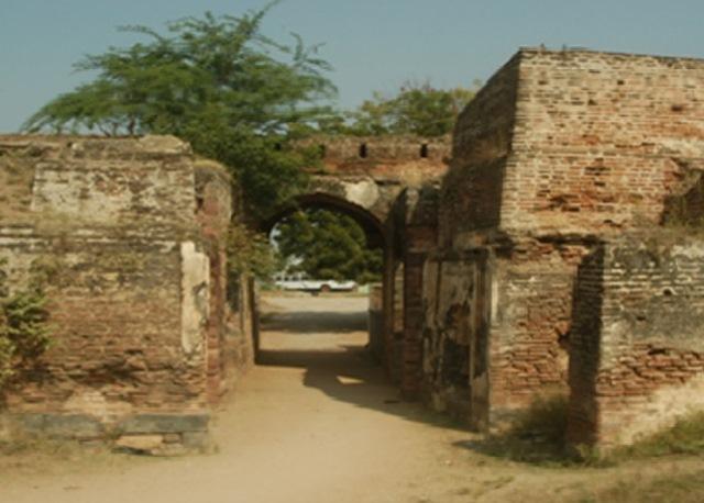 Jagtial Fort Entrance