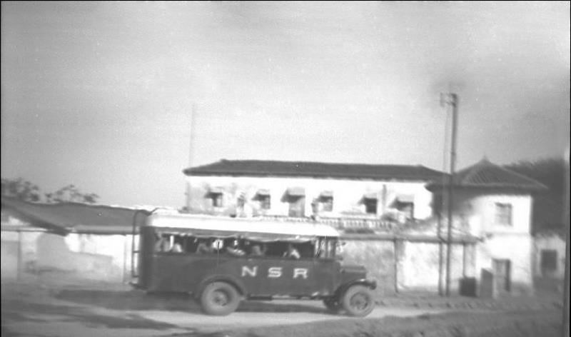 Hyderabad State - Nizam State Road Transport Bus - 1932