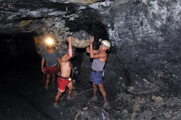 Inside Singareni Underground Coal Mine