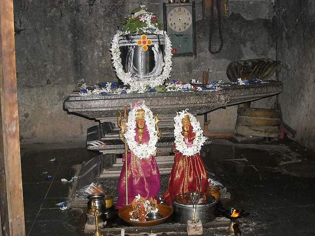 Lord Shiva Lingam at Ramalingeswara Temple_NandiKandi_Sangareddy