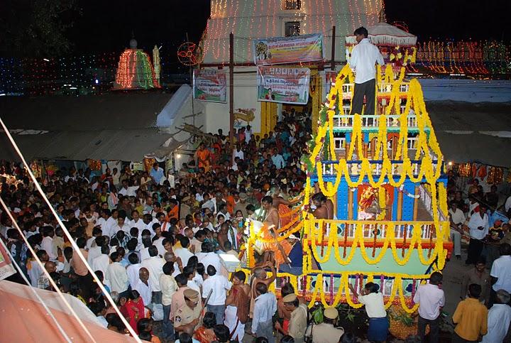 Kuravi Veerabhadra Swamy Temple-Radothsavam