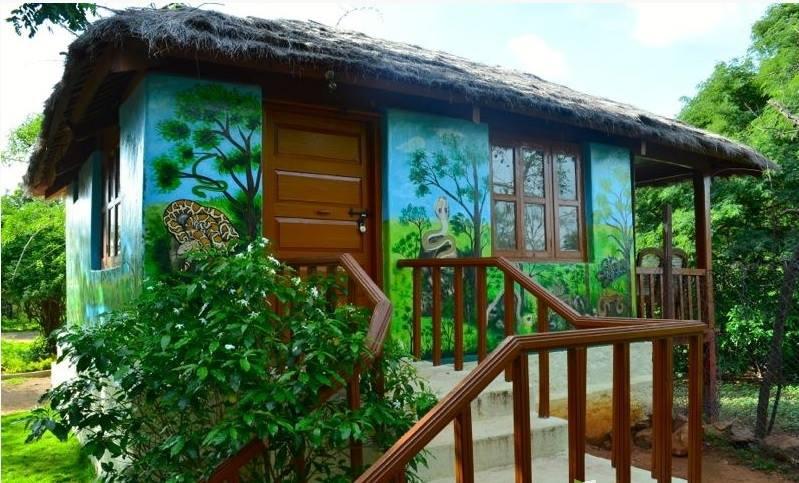 Cottages inside Mrugavani National Park