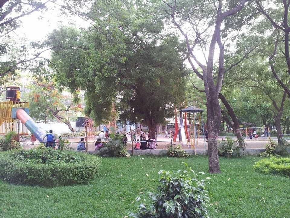 Kids Play Area in Vana Vigyan Park - Warangal