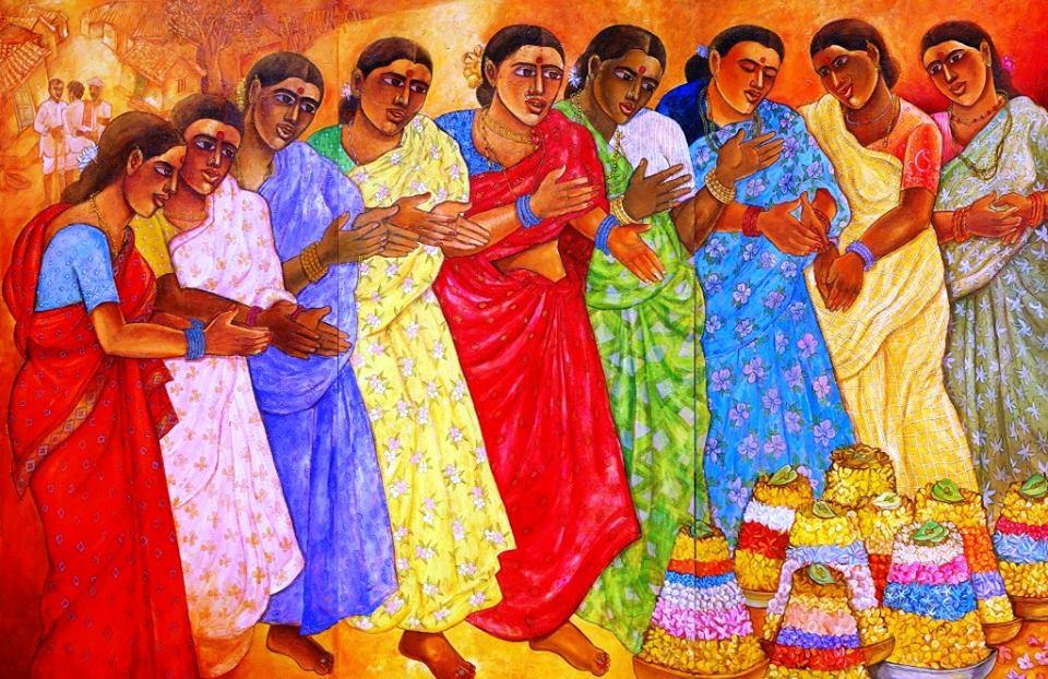 Bathukamma Festival Poster