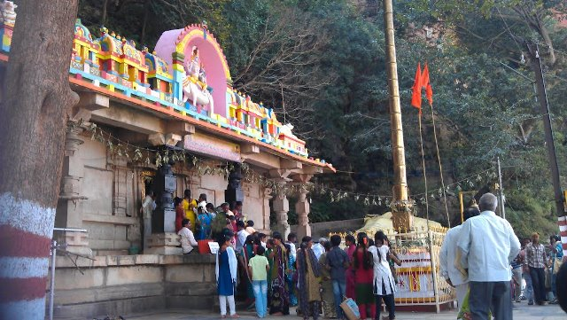 Umamaheshwaram Temple, Mahabubnagar - Telangana Tourism
