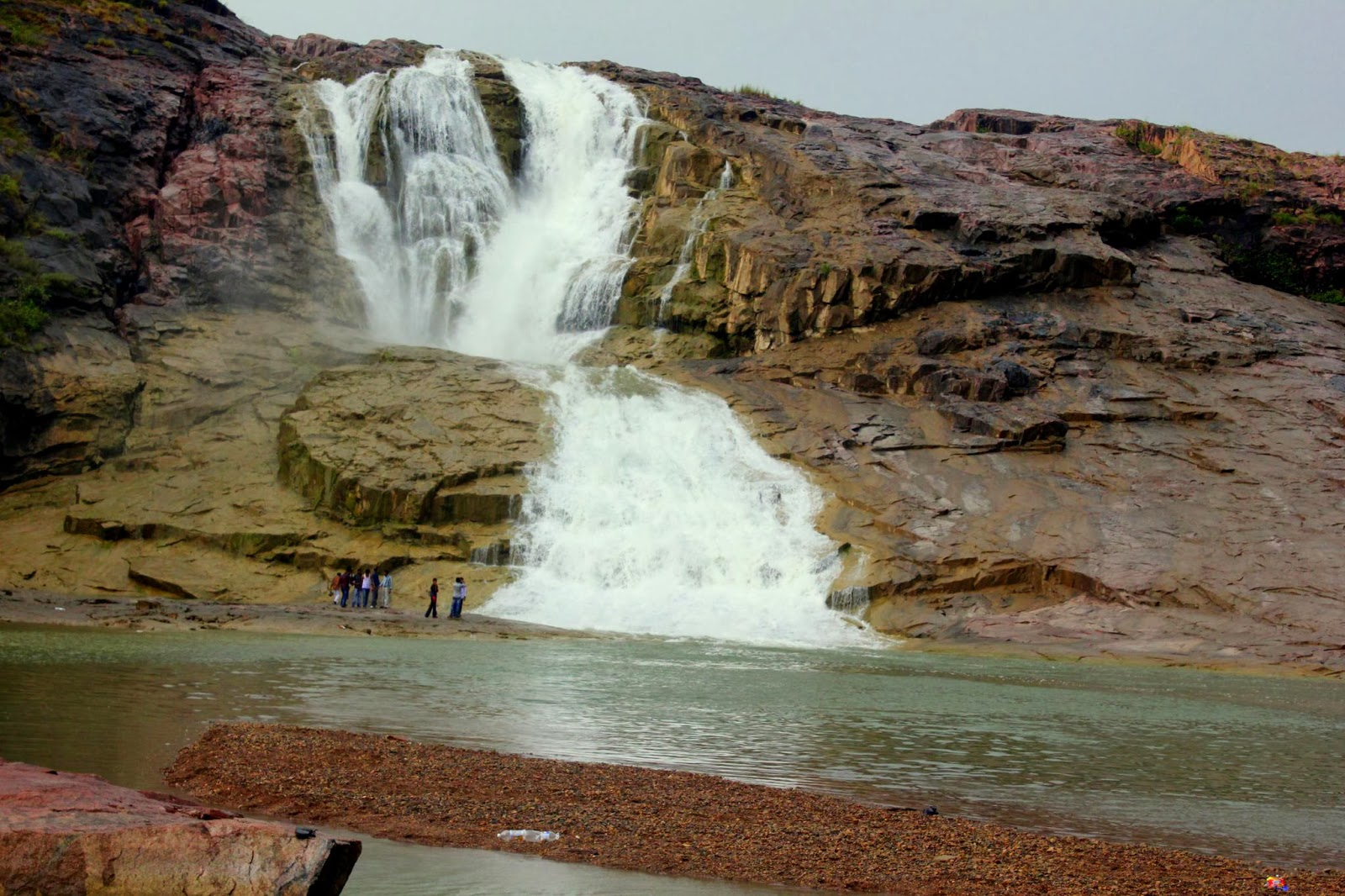 Kuntala Waterfalls in Telangana