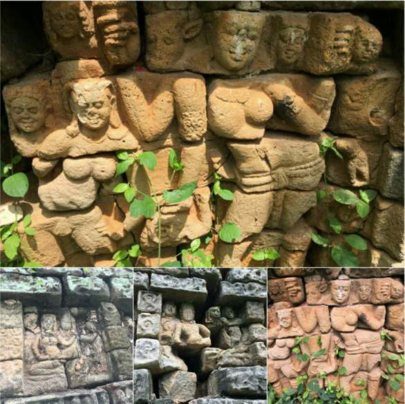 6th Century Angkor Wat Buddhist Temple in Devunigutta in Telangana