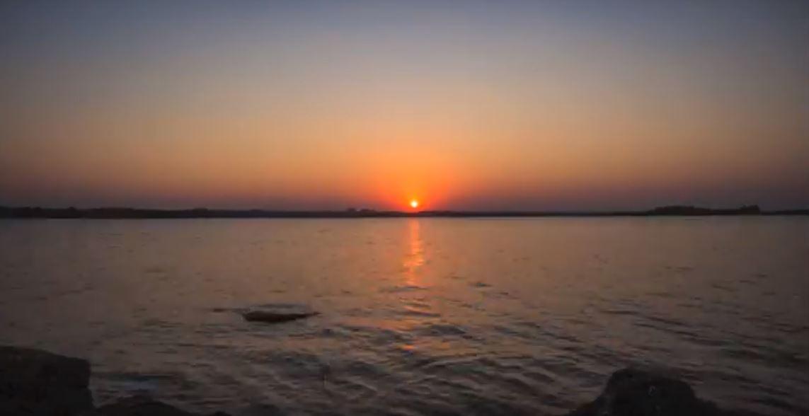 Shamirpet Lake_Sunset View