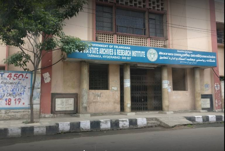 Telangana State Archives and Research Institute_Archival Museum Hyderabad